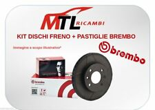 KIT DISCHI + PASTIGLIE FRENO BREMBO AUDI A3 (8P1) 2.0 TDI 16V 103KW 140CV ANT