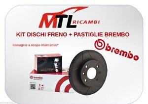 KIT DISCHI+PASTIGLIE FRENO BREMBO LANCIA DELTA III 844 1.6 D MULTIJET DAL 2008