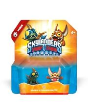 Skylanders Trap Team Minis DROBIT and TRIGGER SNAPPY Sidekick Side Kick Sealed