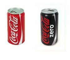 CocaCola Externer USB Ladegerät Smartphone Power Bank Zusatzakku Batterie Akku