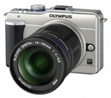 "Olympus PEN E-PL1 [12.3MP, Live View, 2,7""] silber inkl. M.Zuiko Digital ED 14 A"