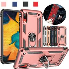 For Samsung Galaxy A10e/A20/A20S/A50/A70 Rugged Shockproof Ring Stand Armor Case