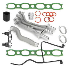 For 2003-06 Porsche Cayenne 4.5 V8 10 Pieces Aluminum Coolant Pipe Upgrade Kit