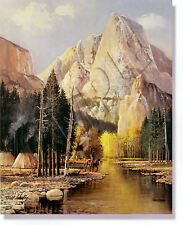 """INDIAN SUMMER"" LIMITED EDITION PRINT BY BILL SHADDIX  ****NEVER FRAMED****"