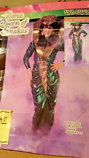 Vintage Selena QUEEN Snake Charmer Women's Hallowee Costume lot 105 by Forum NW