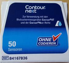 50 Sensoren Contour next von Bayer NEU&OVP MHD 06/2019 ### ALS SOFORT-KAUF ###