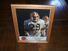 Hanford Dixon Cleveland Browns Signed 8x10 Personalized To Dan FRAMED Autograph