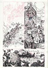 Artyom Trakhanov FIRST KNIFE #1 Page 20 Original Published  Art