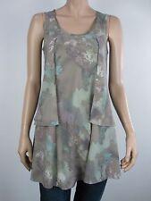 UCW Undercover Wear Ladies Desert Tunic Top sizes 8 10 12 14 16 18 Multi Print