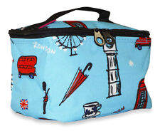 UK London Small Designer Travel Girls Cosmetic Makeup Bag Case for Make Up