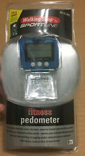 NEW! SEALED! FITNESS PEDOMETER - WALKING SHOP SPORTLINE - 2005 - 082020959