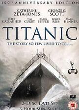 Titanic Mini Series Catherine Zeta Jones George C. Scott Tim Curry 5060290610568