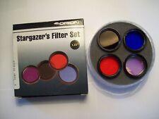Orion 5580 Stargazer's 1.25-Inch Eyepiece Filter Set