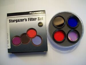 Orion 5580 Stargazer's 1.25-Inch Eyepiece Filter Set