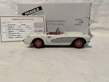 1:24 Danbury Mint 1957 Corvette Roadster Limited Edition No Papers