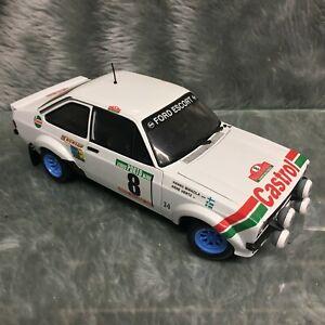 Sun-Star 1:18 Ford Escort Mk2 RS1800 Portugal Rally 1978 Mikkola #1 4442