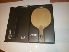 Stiga Allround Classic Carbon Table Tennis & Ping Pong Blade - Flared Handle
