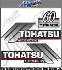TOHATSU - 60hp AUTOMIXING - OUTBOARD DECALS