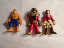FISHER PRICE  IMAGINEXT   DC COMICS  SUPER HEROES    ( 3 DIFF.  FIGURES    )