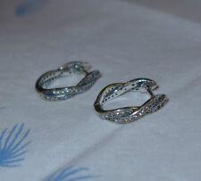 Uhren & Schmuck Ausdrucksvoll Ohrringe Ohrstecker Kreolen 925 Silber Für Kinder Np 28,-