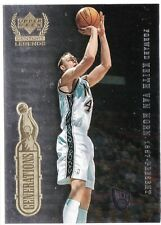 Keith Van Horn, Larry Bird 1998-99 Upper Deck Century Legends, Generations !!