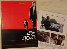 25TH HOUR (2002) Press Kit Folder, Photos; Edward Norton, Anna Paquin; Spike Lee