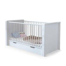 """Baby Crib convertible Bed Junior Children """"Nandini"""" in white"""