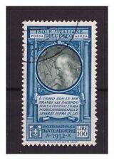 EGEO 1932 -  DANTE ALIGHIERI     POSTA AEREA  Lire 100   USATO