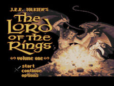 The Lord of The Rings PAL Rare SNES Game