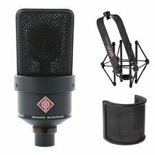 Neumann TLM 103 Large Diaphragm Condenser Microphone (Black) With Suspension Sho