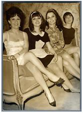 Valérie Viac, Virginie Simon, Mireille Leblanc et France Lavigne  Vintage silver