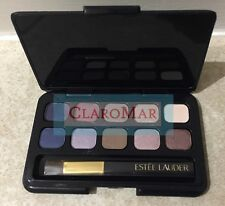 ☀️ NEW Estee Lauder 10 Pure Color Eyeshadow Palette Compact Satin Shimmer Matte