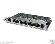  Cisco HWIC-D-9ESW-POE 2801-3845 19XX 29XX 39XX HWIC-D-9ESW WITH ILPM-8 POE