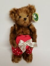 Bearington Collection Valentine Willie Findlove Plush Teddy Bear Hearts Love New