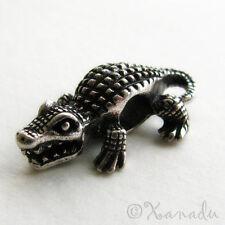 Alligator, Crocodile Bead For European Style Charm Bracelets - Florida Gators
