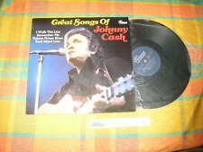 LP Country Johnny Cash - Great Songs Of .. (10 Song) VINTAGE REC / GERMANY