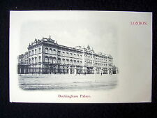 VERY OLD  PPC: LONDON~BUCKINGHAM PALACE~UNDIVIDED~ANIMATED