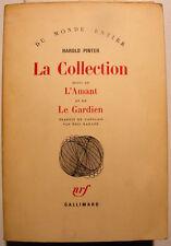 THEATRE/PINTER/LA COLLECTION,L'AMANT/LE GARDIEN/NRF1990