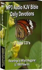 MP3 Daily Devotional  KJV Audio Bible 7 CD's 86hrs NEW