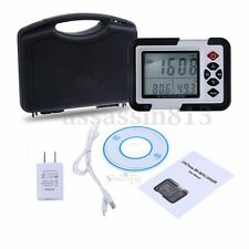 LCD USB CO2 Carbon Dioxide Air Temperature Humidity Meter Data Logger Monitor