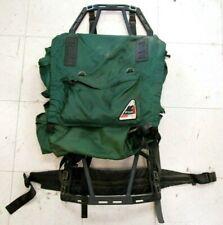 Vintage Peak 1 Coleman Backpack on Frame Green Nylon Boy Scout