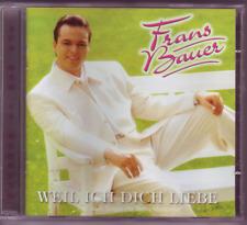 """""""CD"""" - FRANS BAUER - Weil ich dich liebe"""