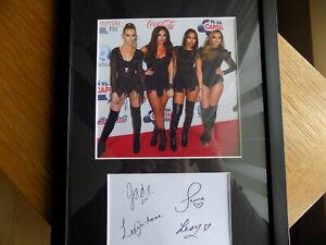 Little Mix Framed Photo & Autograph Display