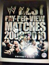 WW Best PPV Matches of the year 2009-2010 - 3 DVD - NEUF