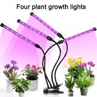 36W LED Grow Lights Lamp Plant Full Spectrum Hydroponic Veg Flower Bloom Indoor