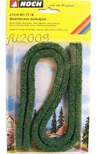 * Noch 21514 scala N oTT o H0 siepe verde scuro 1 metro per diorama o plastico