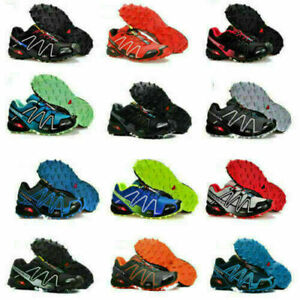 Salomon SpeedCross 3 CS running shoes outdoor off-road Athletic Hiking Shoes New