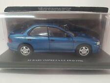 Subaru impreza GT 4WD  (1996) escala 1/24 Salvat Ixo