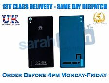 New Huawei Ascend P7 Rear Housing Battery Door Cover Glass Panel Case Black