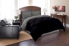 Elegance Linen Super Soft Goose Down Reversible Alternative Comforter, Queen,